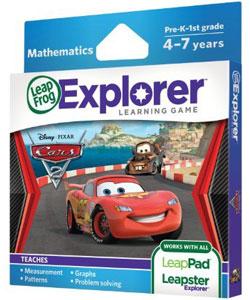 LeapFrog Explorer Learning Game: Disney-Pixar Cars 2