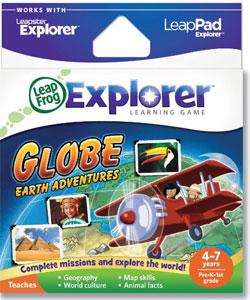 Globe: Earth Adventures – LeapFrog Explorer Learning Game