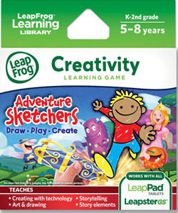 LeapFrog Adventure Sketchers! Draw, Play, Create Learning Game