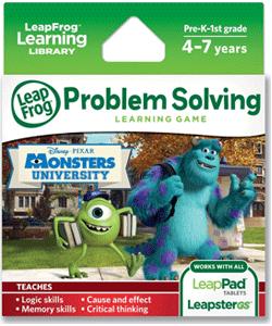 LeapFrog Disney Pixar Monsters University Learning Game