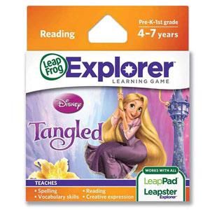 LeapFrog Explorer Learning Game: Disney Tangled
