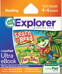 LeapFrog LeapPad Ultra E-Book Learn to Read Collection: Fairy Tales