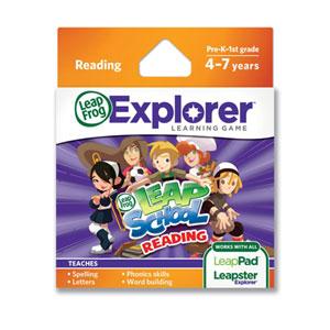 LeapFrog LeapSchool Reading Learning Game