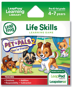 LeapFrog Pet Pals 2 Learning Game