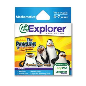 LeapFrog the Penguins of Madagascar: Operation Plushy Rescue Learning Game