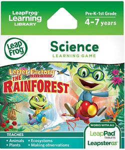 LeapFrog Learning Game Letter Factory Adventures: The Rainforest