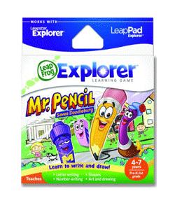 LeapFrog Explorer Learning Game: Mr. Pencil Saves Doodleburg