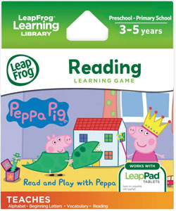LeapFrog LeapPad Read and Play with Peppa Pig Game