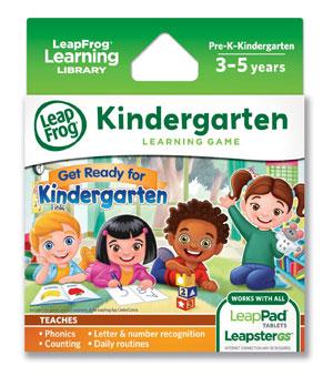 LeapFrog Learning Game: Get Ready for Kindergarten