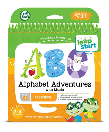 LeapFrog LeapStart Preschool Activity Book with Music