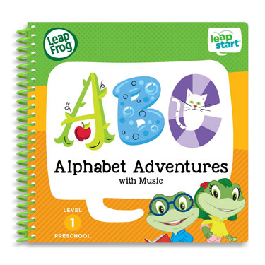 LeapStart Level 1 Preschool Activity Book Bundle