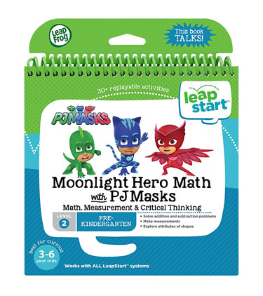 LeapStart Moonlight Hero Math with PJ Masks Book